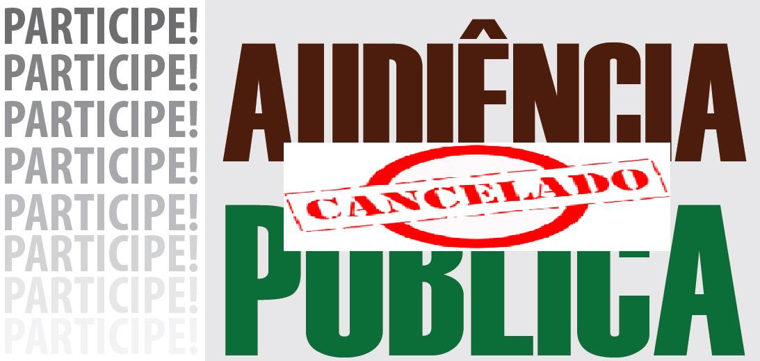 Audiência Cancelado