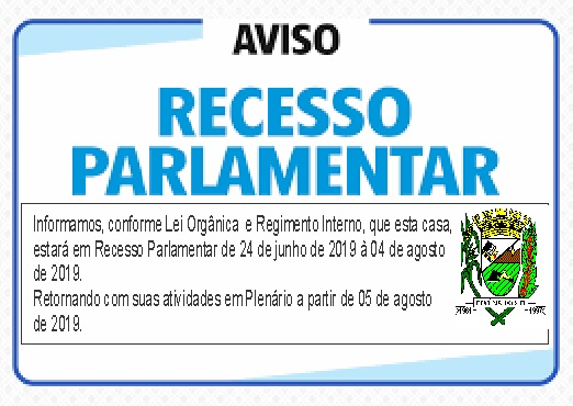 recesso 2019